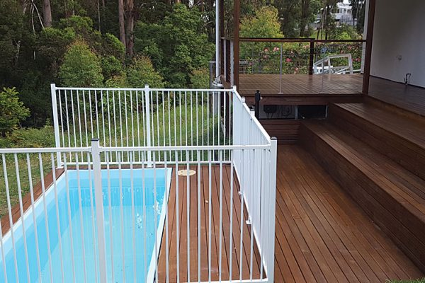 SKIP POOLS SUNSHINE COAST HOME DECK