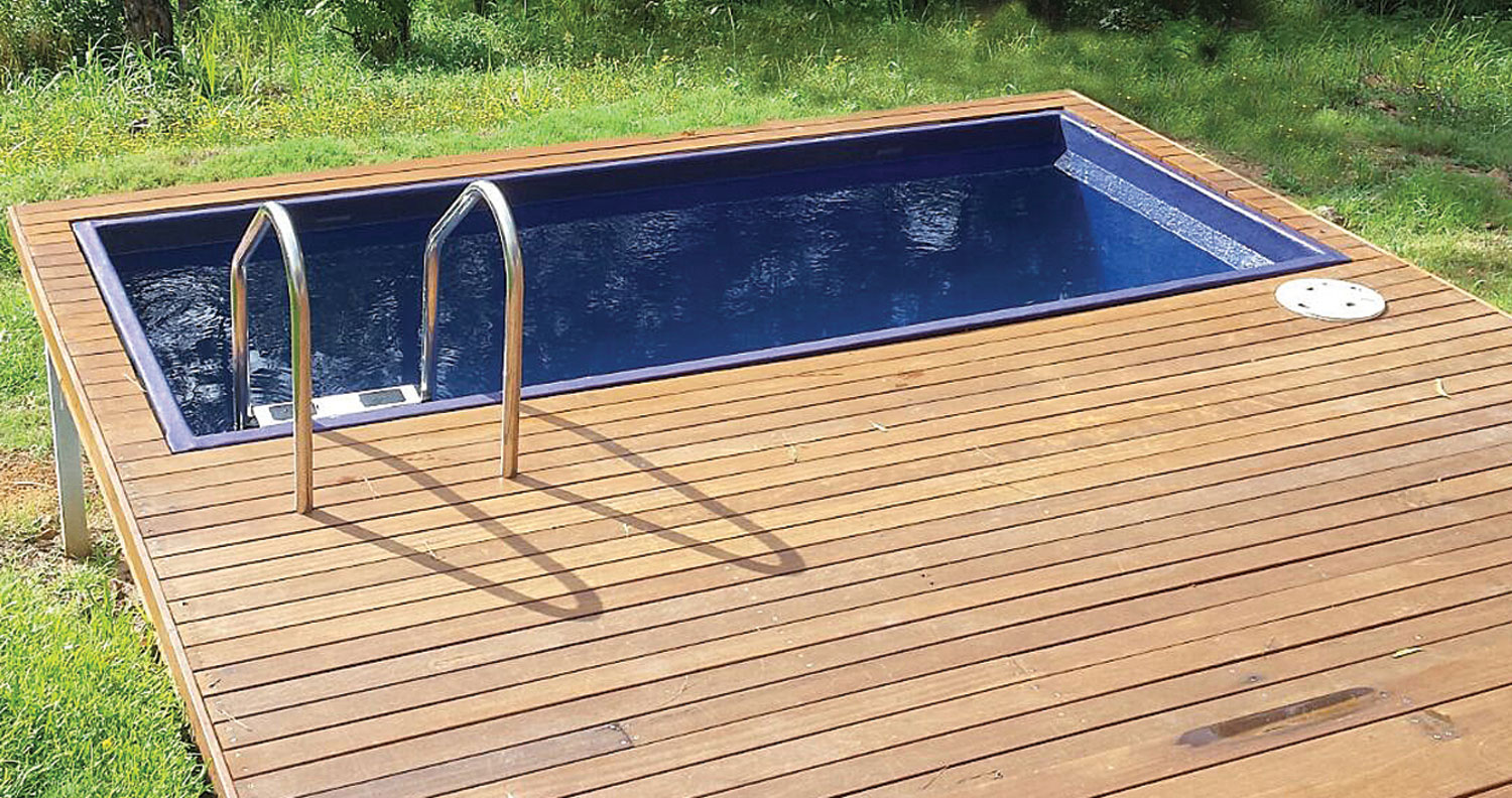 Image of: Affordable Plunge Pools From 8 900 Skip Pools Australia