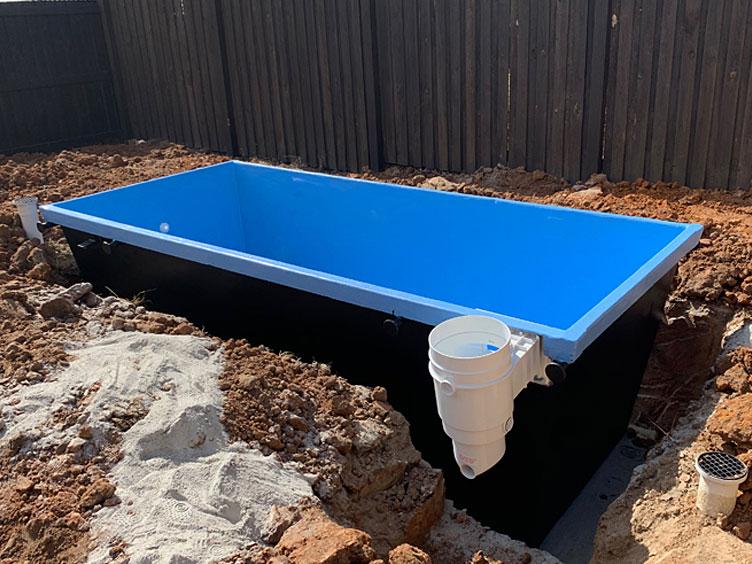 skip pool installation in burpengary east