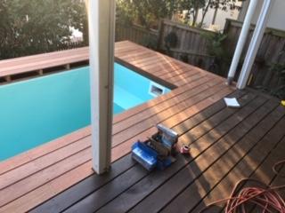 skip plunge pool above ground