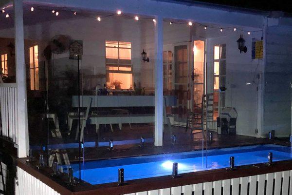 skip plunge pool night