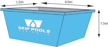 skip pool 7000ltrs