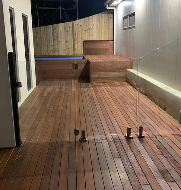 skip pool installed